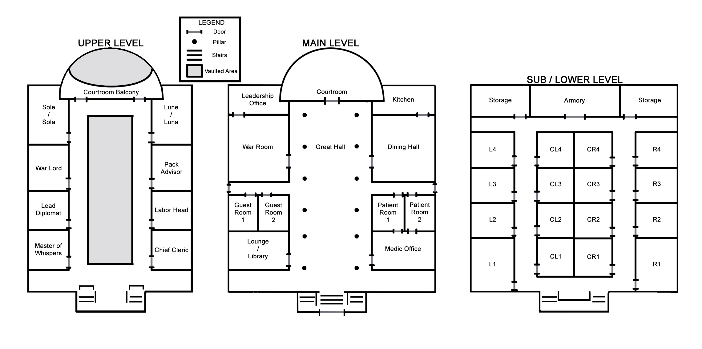 Courthouse Layout